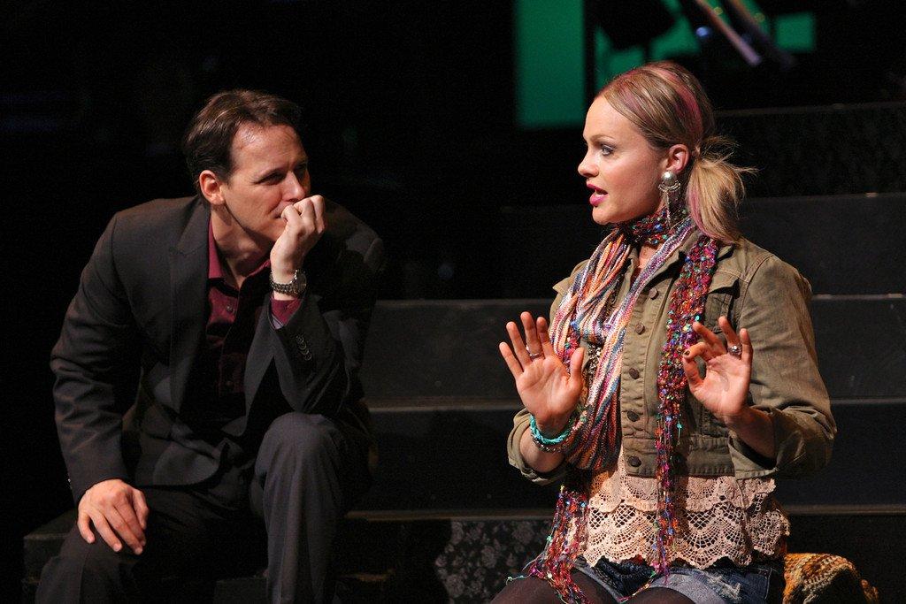 Jim Poulos, Nicolette Hart - Company at Geva Theatre Center, 2012: Director: Mark Cuddy, Scenic Design: G.W. Mercier, Costume Design: Pamela Scofield, Lighting Design: Joel Moritz, Photos: Ken Huth
