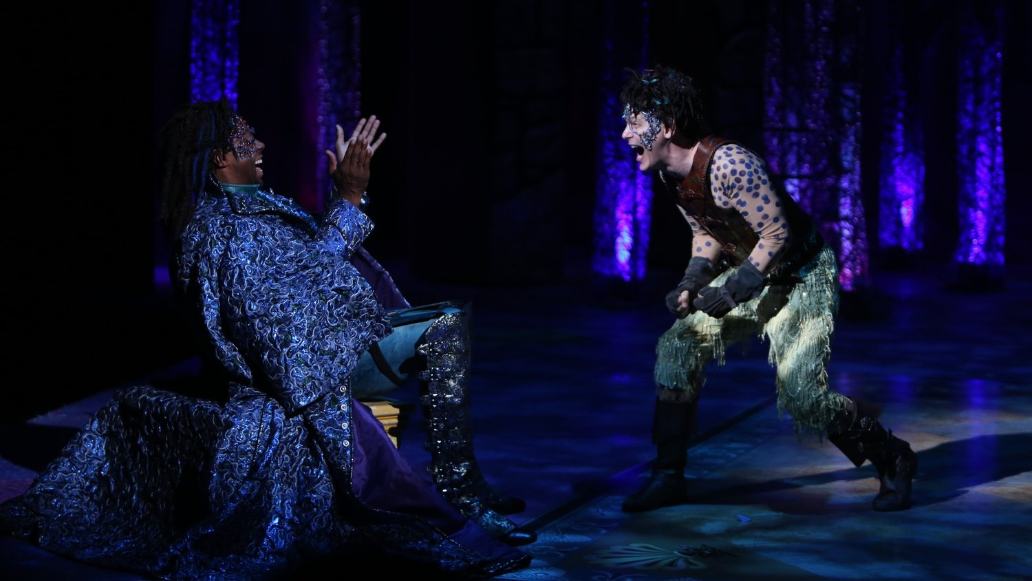 Alvin Keith, Jim PoulosA Midsummer Night's Dream at Repertory Theatre of St. Louis 2014: Director: Paul Barnes, Set Design: James Kronzer, Costume Design: Susan Branch Towne, Lighting Design: Lonnie Rafael Alcaraz, Choreographer: Matt Williams, All Photos: ©Photo by Jerry Naunheim Jr.