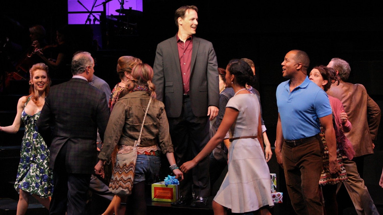 Company at Geva Theatre Center, 2012: Director: Mark Cuddy, Scenic Design: G.W. Mercier, Costume Design: Pamela Scofield, Lighting Design: Joel Moritz, Photos: Ken Huth