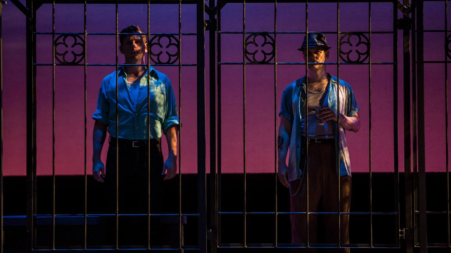Brian White, Jim Poulos - Romeo and Juliet at Great River Shakespeare Festival