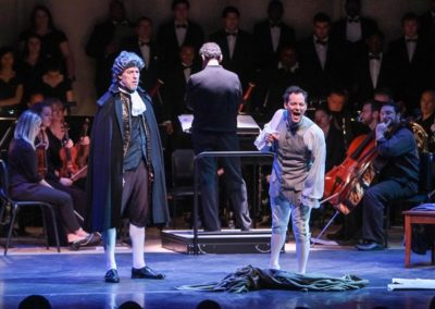IMG_5736A.jpg_ The Fayetteville Symphony, Cape Fear Regional Thatre and Th university of North Carolina at Pembroke Choir present Amadeus at Seabrook Auditorium on Friday, March20th, 2015.
