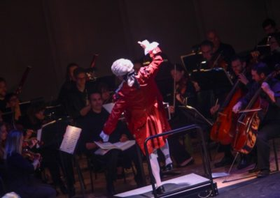 """""""IMG_5893.jpg_ The Fayetteville Symphony, Cape Fear Regional Thatre and Th university of North Carolina at Pembroke Choir present Amadeus at Seabrook Auditorium on Friday, March20th, 2015."""""""