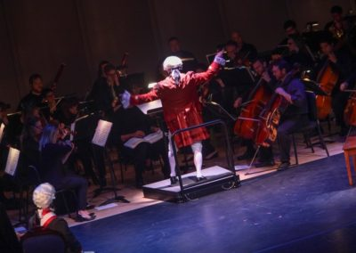 """""""IMG_5894.jpg_ The Fayetteville Symphony, Cape Fear Regional Thatre and Th university of North Carolina at Pembroke Choir present Amadeus at Seabrook Auditorium on Friday, March20th, 2015."""""""