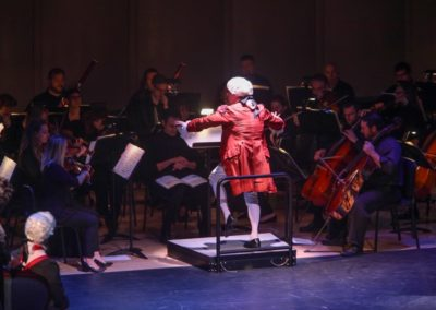 """""""IMG_5902.jpg_ The Fayetteville Symphony, Cape Fear Regional Thatre and Th university of North Carolina at Pembroke Choir present Amadeus at Seabrook Auditorium on Friday, March20th, 2015."""""""