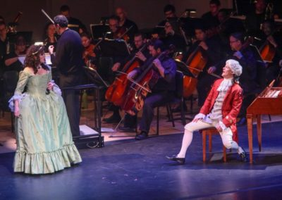 """""""IMG_5924.jpg_ The Fayetteville Symphony, Cape Fear Regional Thatre and Th university of North Carolina at Pembroke Choir present Amadeus at Seabrook Auditorium on Friday, March20th, 2015."""""""