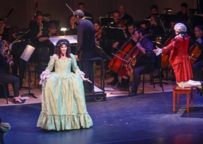"""""""IMG_5937.jpg_ The Fayetteville Symphony, Cape Fear Regional Thatre and Th university of North Carolina at Pembroke Choir present Amadeus at Seabrook Auditorium on Friday, March20th, 2015."""""""