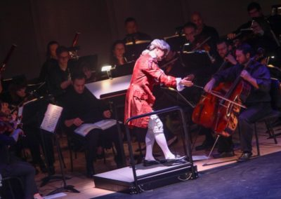 """""""IMG_5889.jpg_ The Fayetteville Symphony, Cape Fear Regional Thatre and Th university of North Carolina at Pembroke Choir present Amadeus at Seabrook Auditorium on Friday, March20th, 2015."""""""