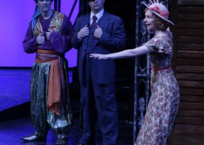 Jim Poulos, Ryan Fonville, Tarah Flanagan - The Comedy of Errors at Repertory Theatre of St. Louis 2012: Director: Paul Barnes, Set Design: Erik Paulson, Costume Design: Margaret E. Weedon, Lighting Design: Lonnie Rafael Alcaraz, All Photos: ©Photo by Jerry Naunheim Jr.