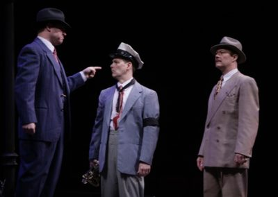 Ryan Fonville, Jim Poulos, Chris Mixon - The Comedy of Errors at Repertory Theatre of St. Louis 2012: Director: Paul Barnes, Set Design: Erik Paulson, Costume Design: Margaret E. Weedon, Lighting Design: Lonnie Rafael Alcaraz, All Photos: ©Photo by Jerry Naunheim Jr..