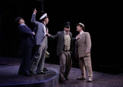 Ryan Fonville, Jim Poulos, Aaron Orion Baker, Chris Mixon - The Comedy of Errors at Repertory Theatre of St. Louis 2012: Director: Paul Barnes, Set Design: Erik Paulson, Costume Design: Margaret E. Weedon, Lighting Design: Lonnie Rafael Alcaraz, All Photos: ©Photo by Jerry Naunheim Jr.