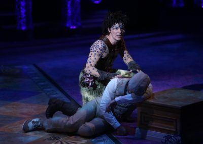 Jim Poulos, Jeffrey Omura - A Midsummer Night's Dream at Repertory Theatre of St. Louis 2014: Director: Paul Barnes, Set Design: James Kronzer, Costume Design: Susan Branch Towne, Lighting Design: Lonnie Rafael Alcaraz, Choreographer: Matt Williams, All Photos: ©Photo by Jerry Naunheim Jr.