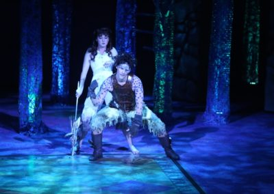 Caroline Amos, Jim Poulos  - A Midsummer Night's Dream at Repertory Theatre of St. Louis 2014: Director: Paul Barnes, Set Design: James Kronzer, Costume Design: Susan Branch Towne, Lighting Design: Lonnie Rafael Alcaraz, Choreographer: Matt Williams, All Photos: ©Photo by Jerry Naunheim Jr.