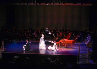 IMG_5750.jpg_ The Fayetteville Symphony, Cape Fear Regional Thatre and Th university of North Carolina at Pembroke Choir present Amadeus at Seabrook Auditorium on Friday, March20th, 2015.